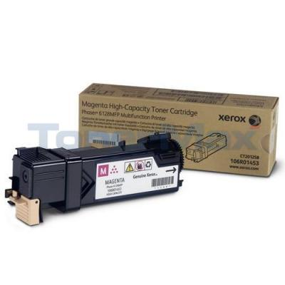 XEROX PHASER 6128MFP TONER CARTRIDGE MAGENTA